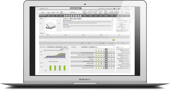 Smart PPM Software Tool - Project Managers - Project Management Dashboard