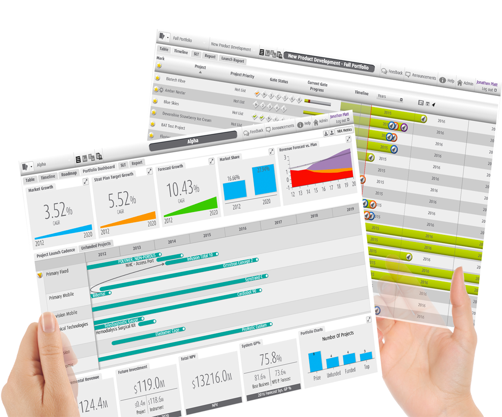 Smart PPM Software - Project Portfolio Management Experts - One version of truth Project Portfolio Dashboards image