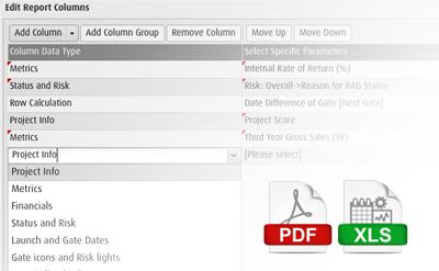 Report Builder Tool - Project Portfolio Management Software - PPM