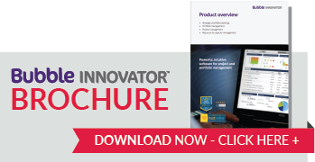 Brochure download image - Bubble Innovator Project Portfolio Management Software