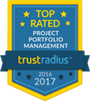 best ppm software 2017- Project portfolio management PPM - iPad top rated PPM software trustradius logo 2017