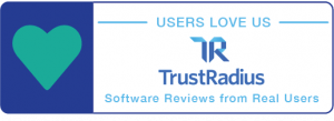 Top rated badge - Best ppm software 2018 Trustradius project portfolio management magic quadrant