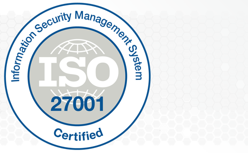 ISO 27001:2013 Certified project portfolio management software logo