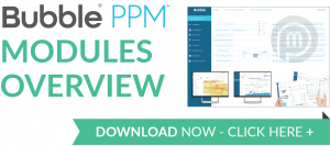 Download brochure image - Bubble PPM software for managing remote working teams